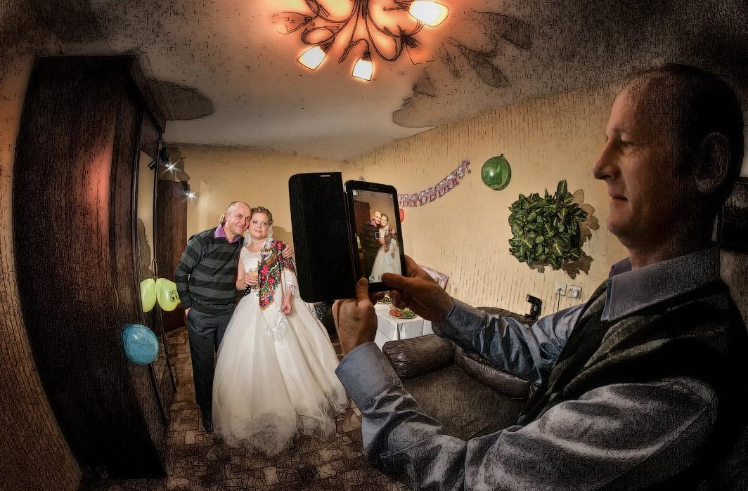 свадебный фотограф Челябинск невеста сборы