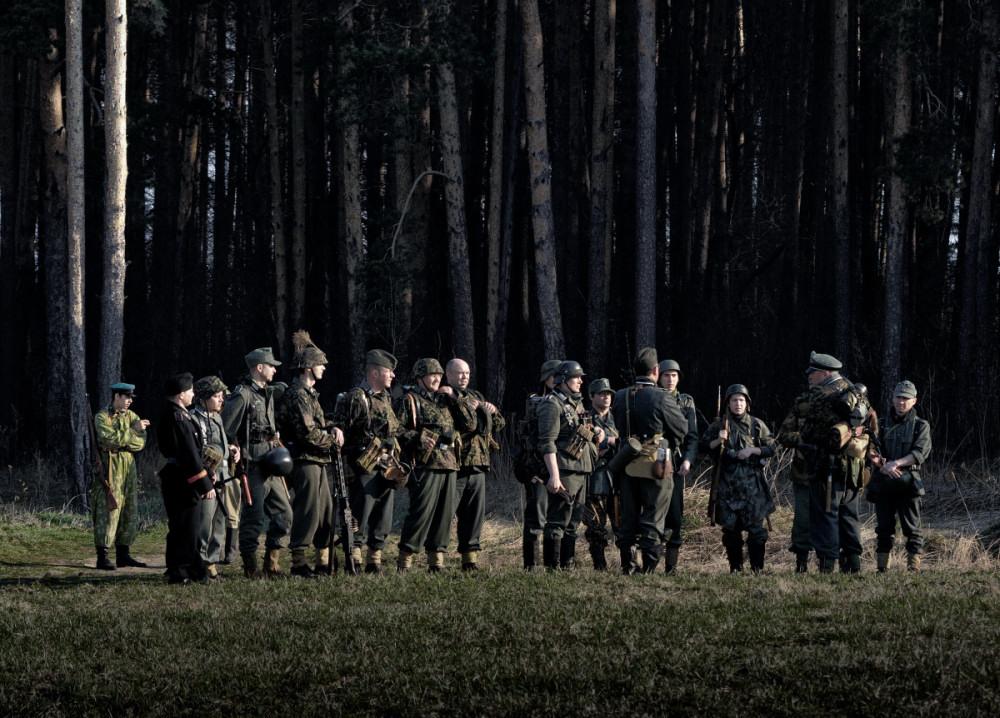 Вторая мировая война реконструкция фотограф челябинск