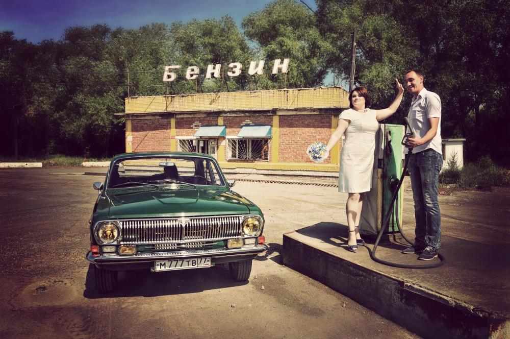 свадебный фотограф Челябинск ретро авто