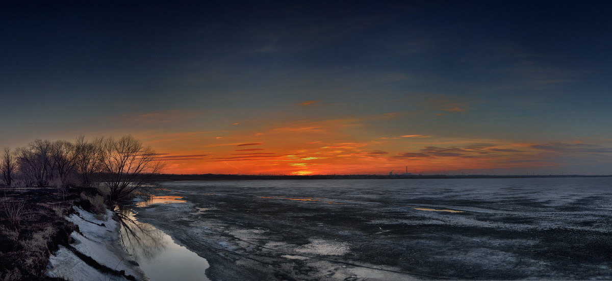 пейзаж закат фотограф Челябинск