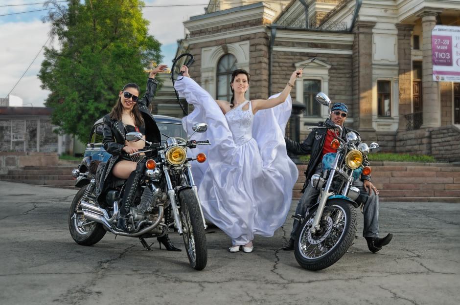 свадебный фотограф Челябинск байкеры