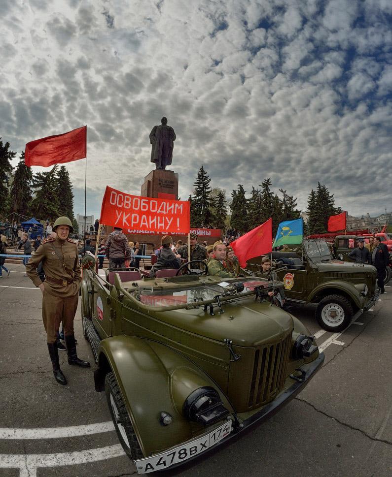 фотограф Челябинск, парад победы в Челябинске, стробизм