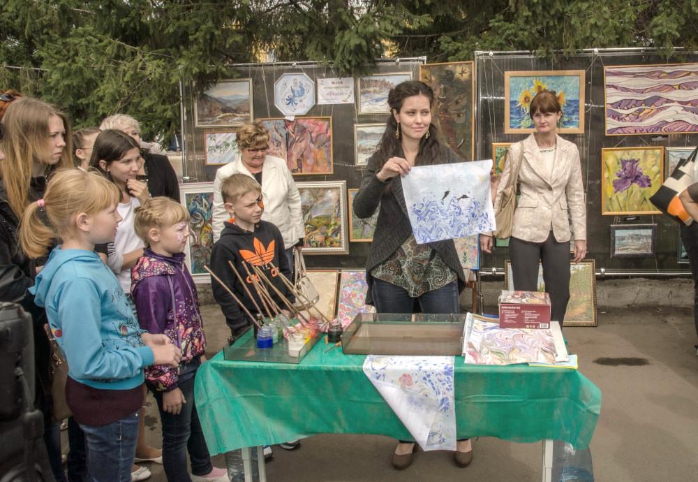 мастер класс живопись Челябинск Эбру_1237