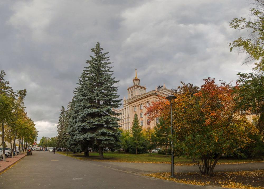 фотограф Челябинск фото осень ЮУРГУ