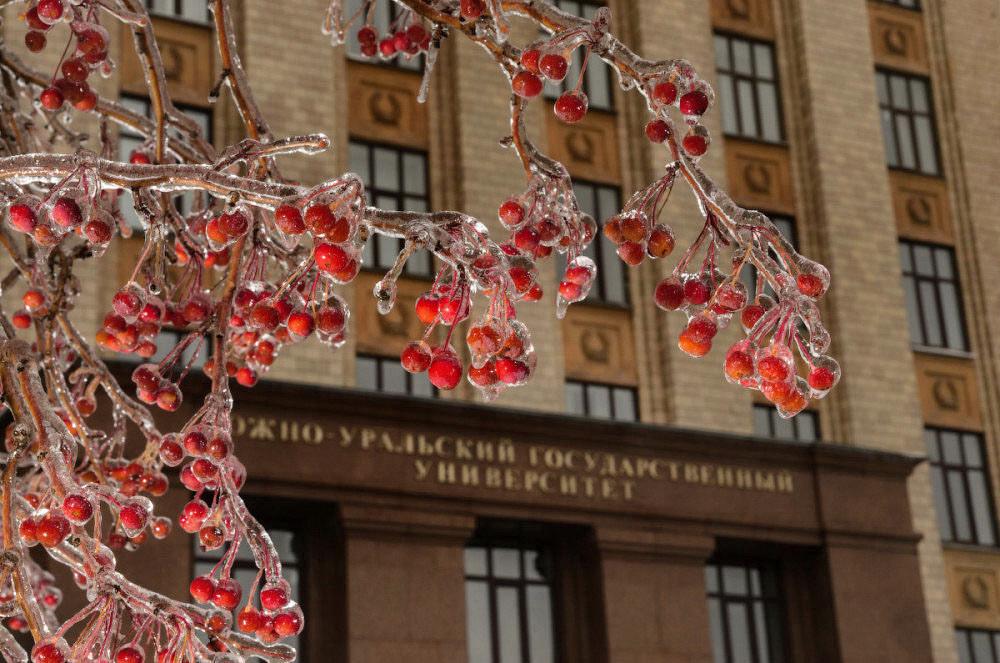 ледяной дождь фотограф Челябинск