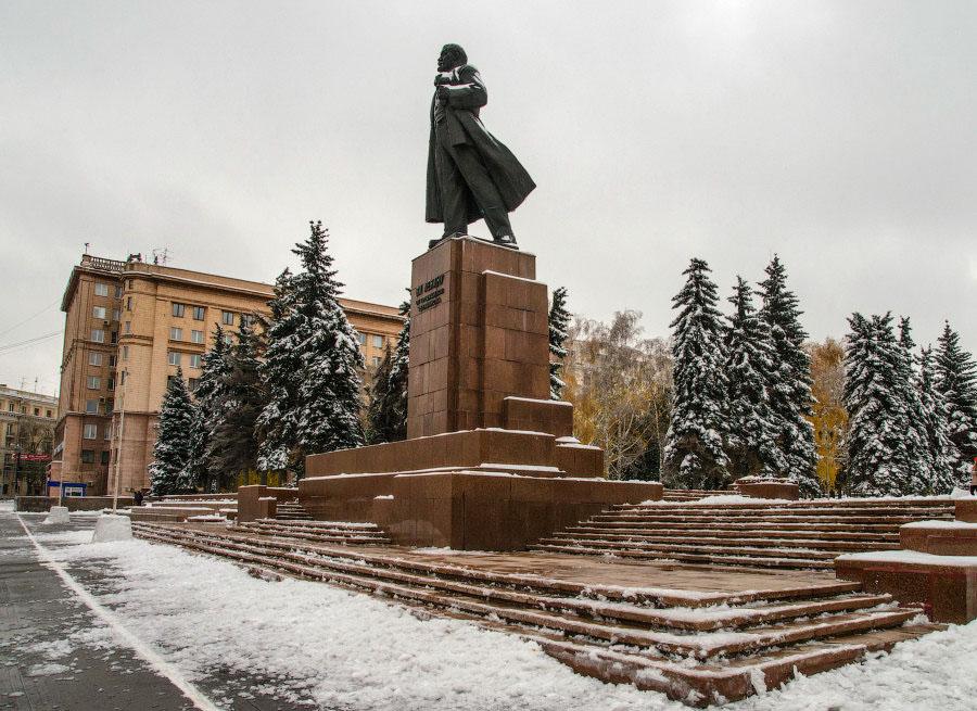 фотограф Челябинск памятник ленин