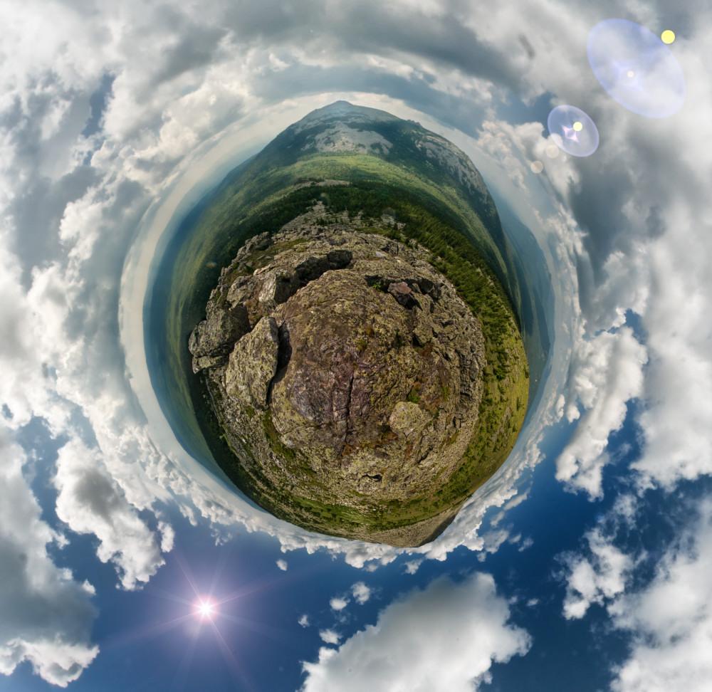 Нургуш панорама 360 градусов полярные координаты фотограф Челябинск