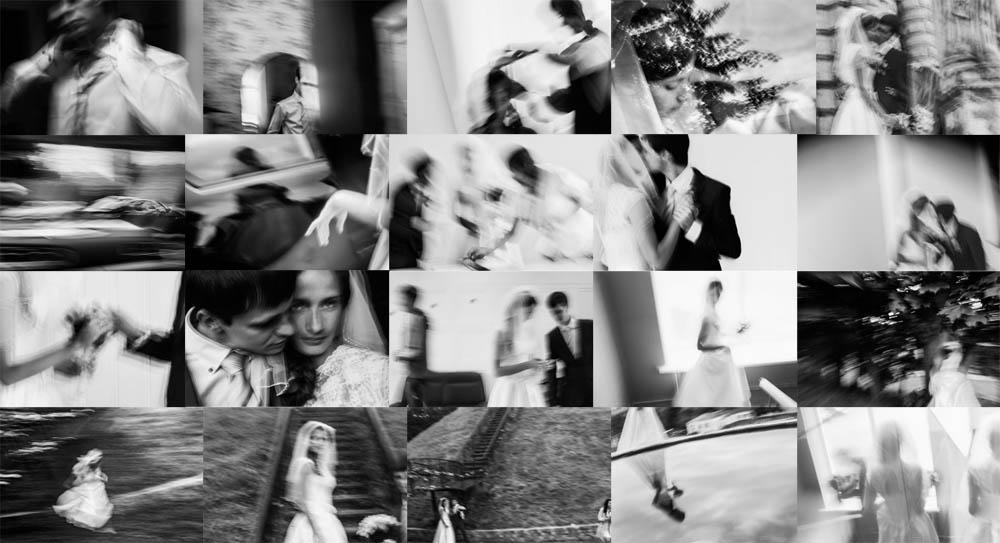 абстракционизм в свадебной фотографии