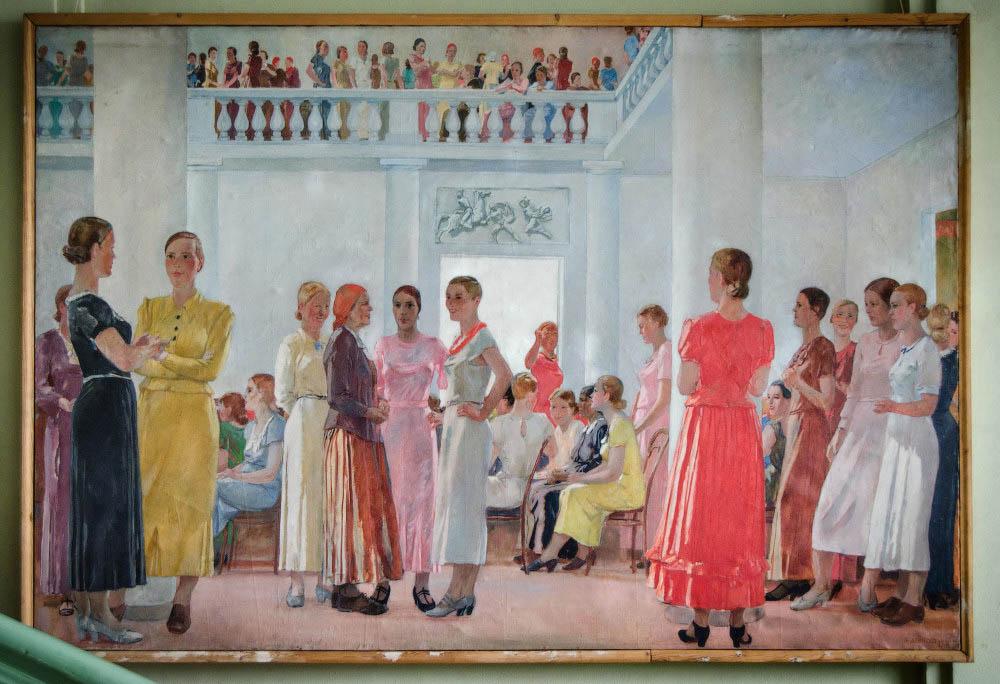 Челябинская картинная галерея Дейнека