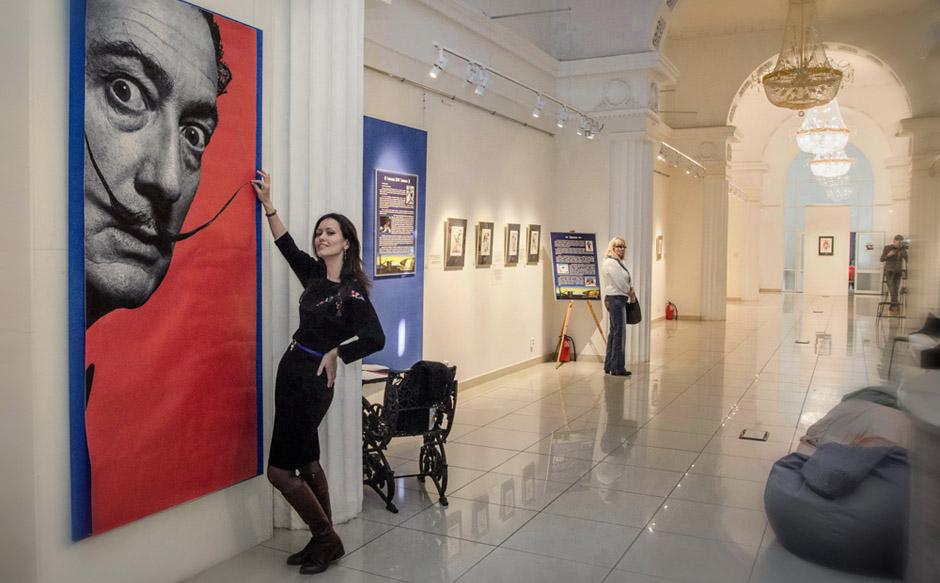 Челябинск музей изобразительных искусств выставка Сальвадор Дали. Тайнопись