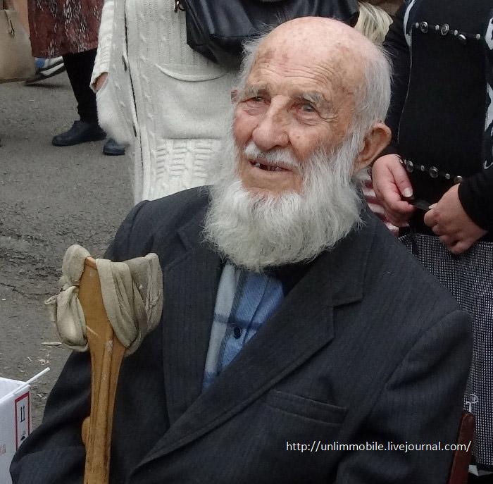 Отто Фишер 102 года