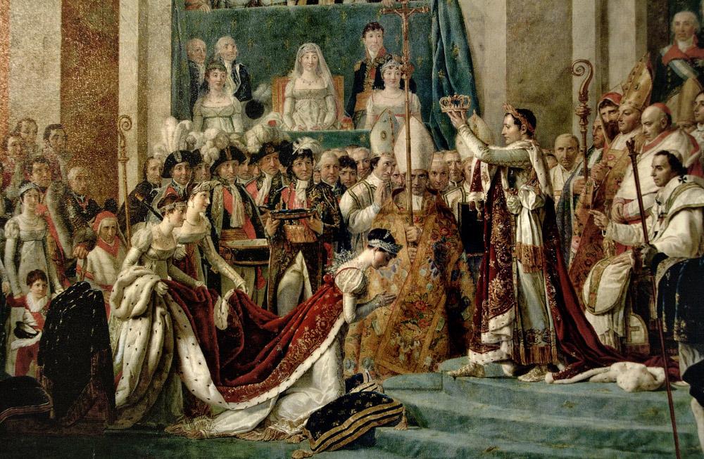 наполеон коронация жозефина