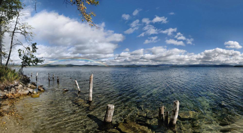 остров Веры озеро тургояк