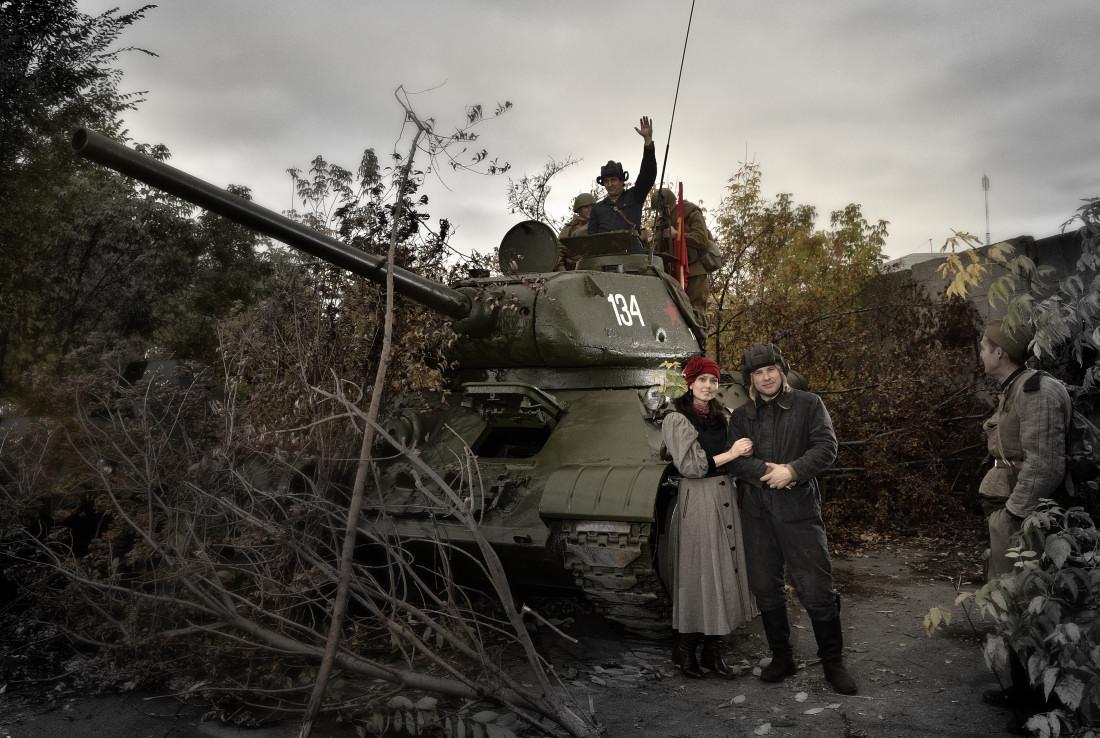 фотограф Челябинск танк Т-34