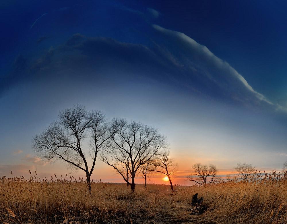 апрельский закат в средней полосе фотограф челябинск