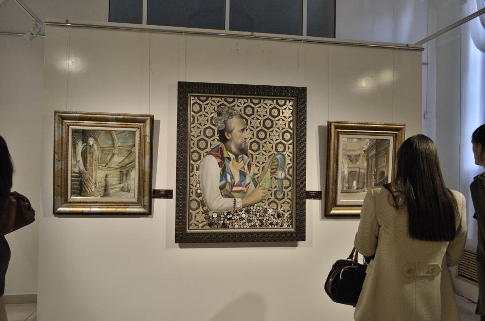 Никас Сафронов в Челябинске. Экспозиция картин_3472