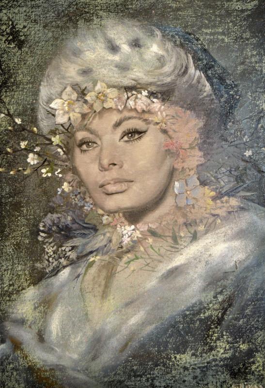 Никас Сафронов в Челябинске. Экспозиция картин-001
