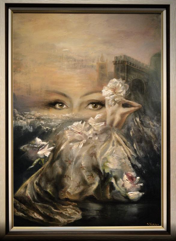 Никас Сафронов в Челябинске. Экспозиция картин 0003