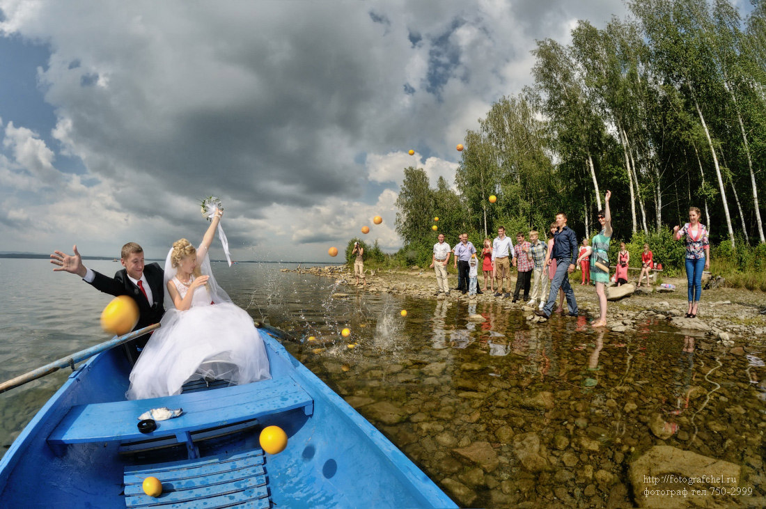 свадебный фотограф Челябинск озеро Увильды