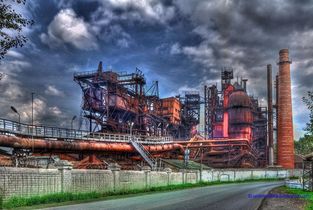Сатка металлургический завод - фотограф Челябинск