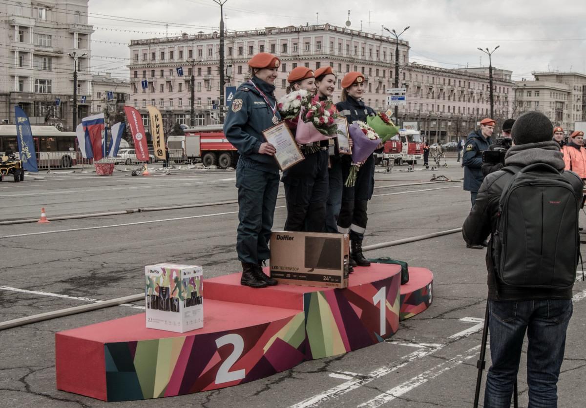 Челябинск, МЧС, 21.04.2018, чемпионат по функциональному многоборью пожарных и спасателей