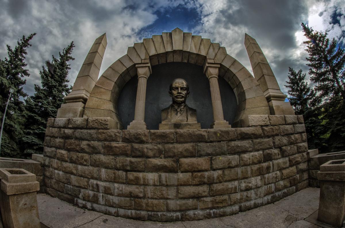 фотограф Челябинск памятник Ленину Алое Поле