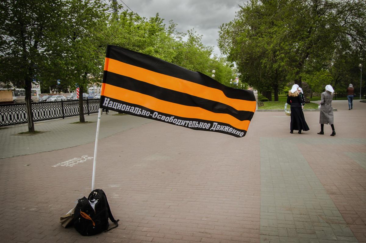 НОД патриотизм прибежище негодяев и религия бешеных - фотограф Челябинск
