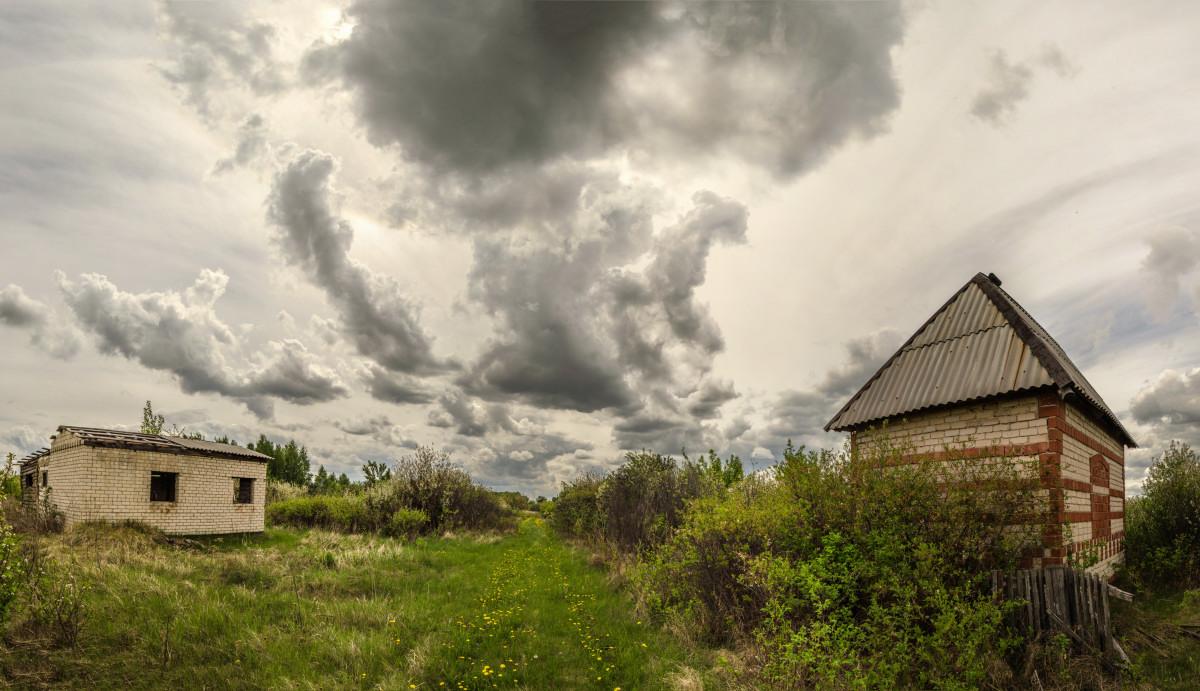фотограф Челябинск пейзаж пасмурное небо