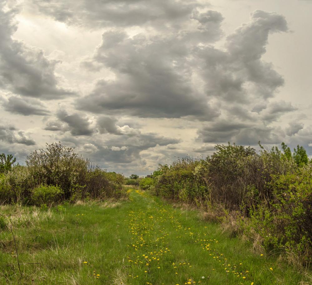 фотограф Челябинск пейзаж пасмурное небо в облаках
