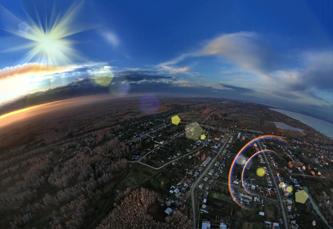 закат фотограф Челябинск параплан полеты