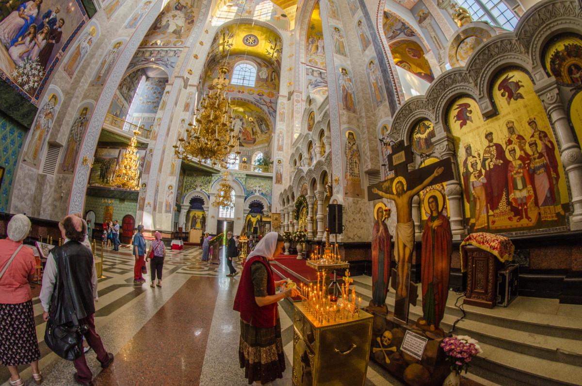 Екатеринбург, храм Романовых, 100 летие расстрела романовых _9474