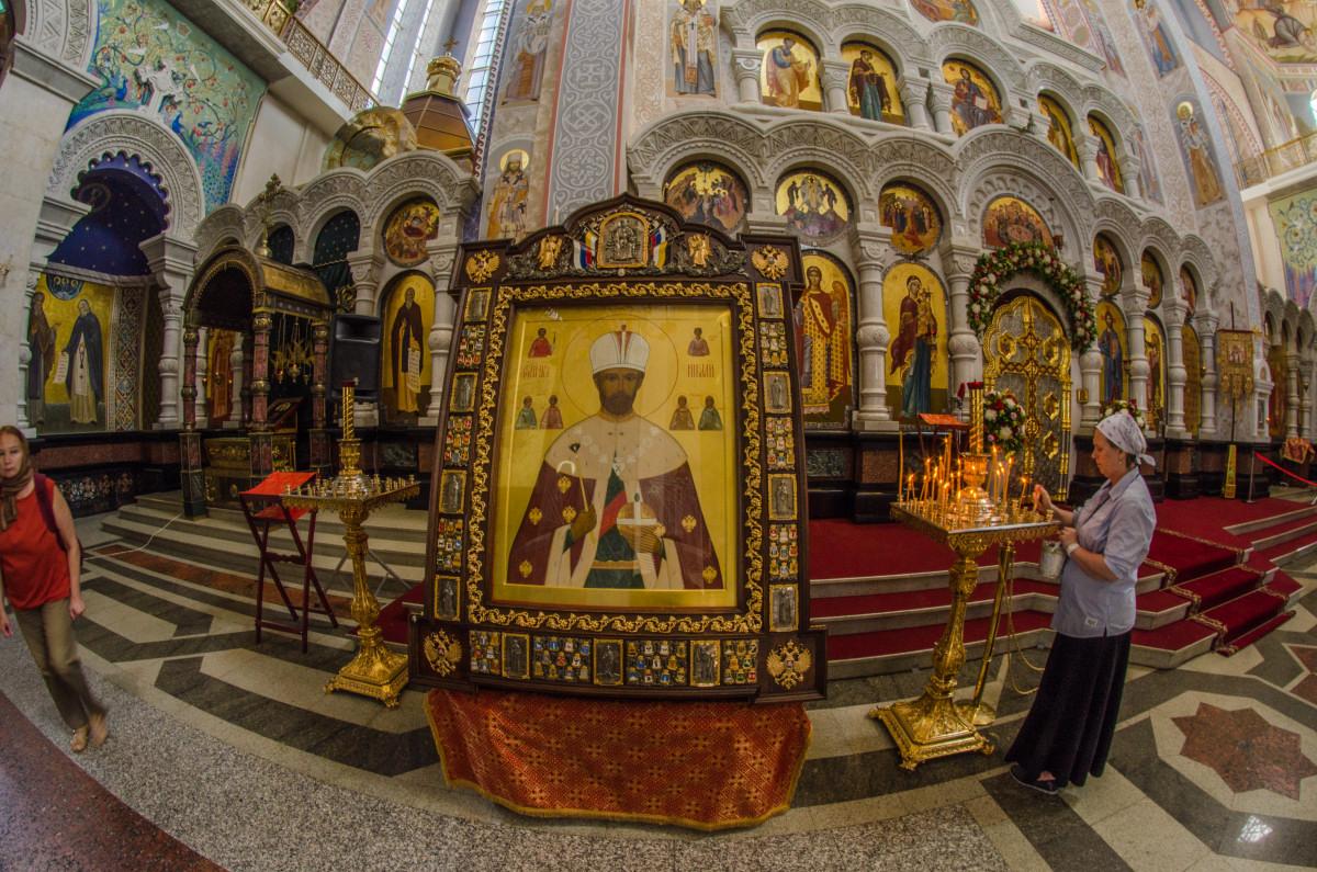 Екатеринбург, храм Романовых, 100 летие расстрела романовых _9478