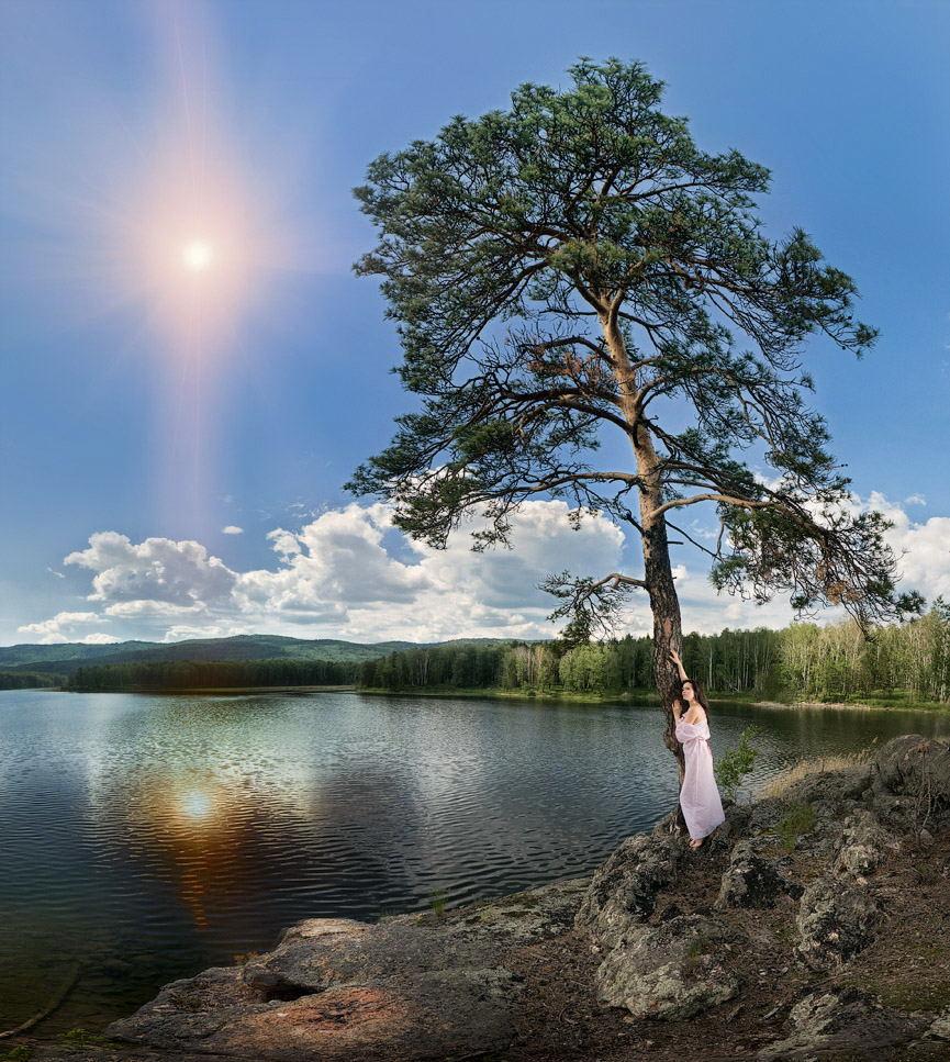 закат панорамный фотограф Челябинск