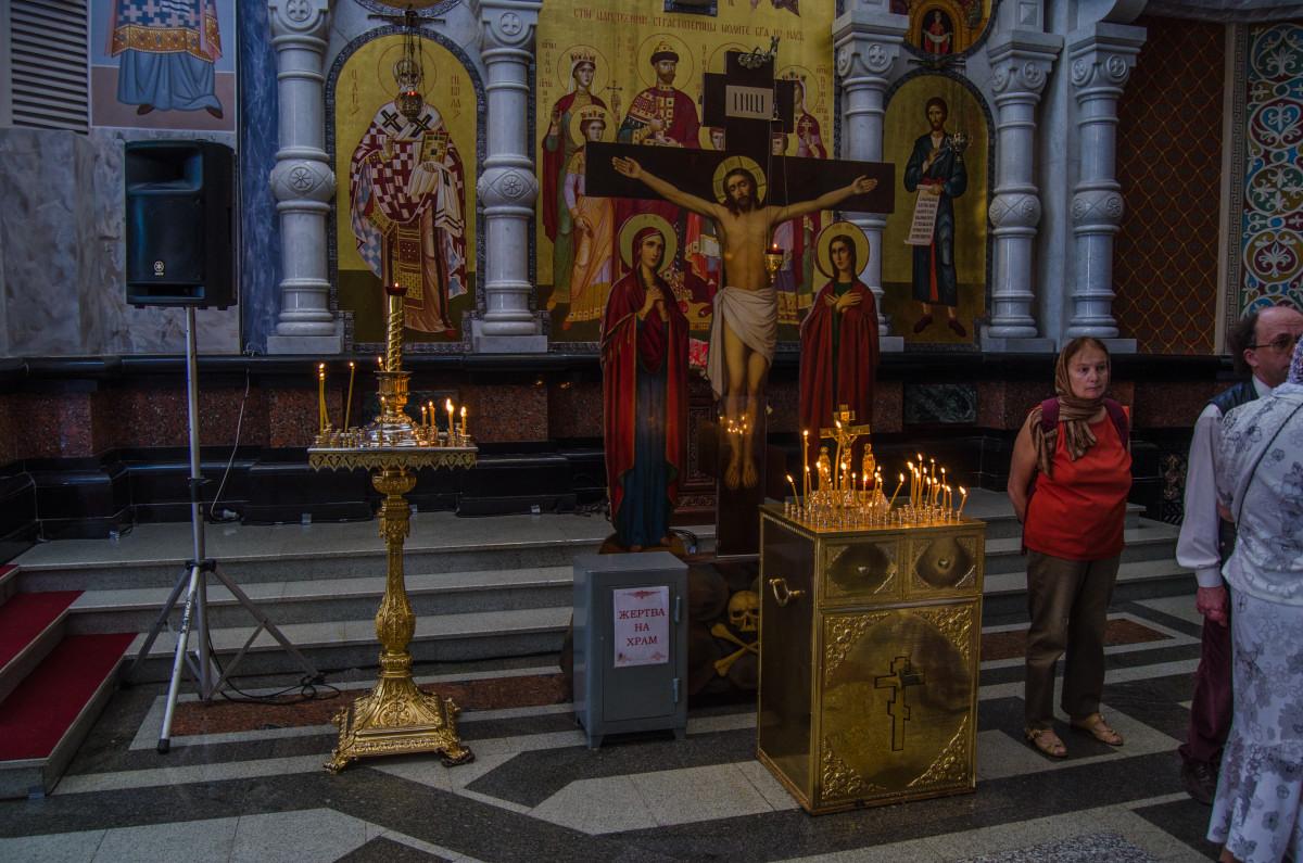 Екатеринбург, храм Романовых, 100 летие расстрела романовых _9482