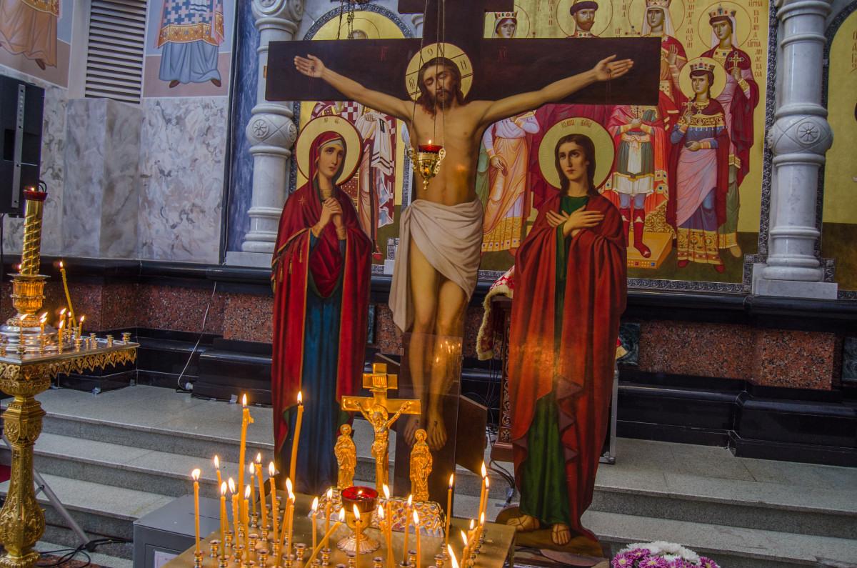 Екатеринбург, храм Романовых, 100 летие расстрела романовых _9487