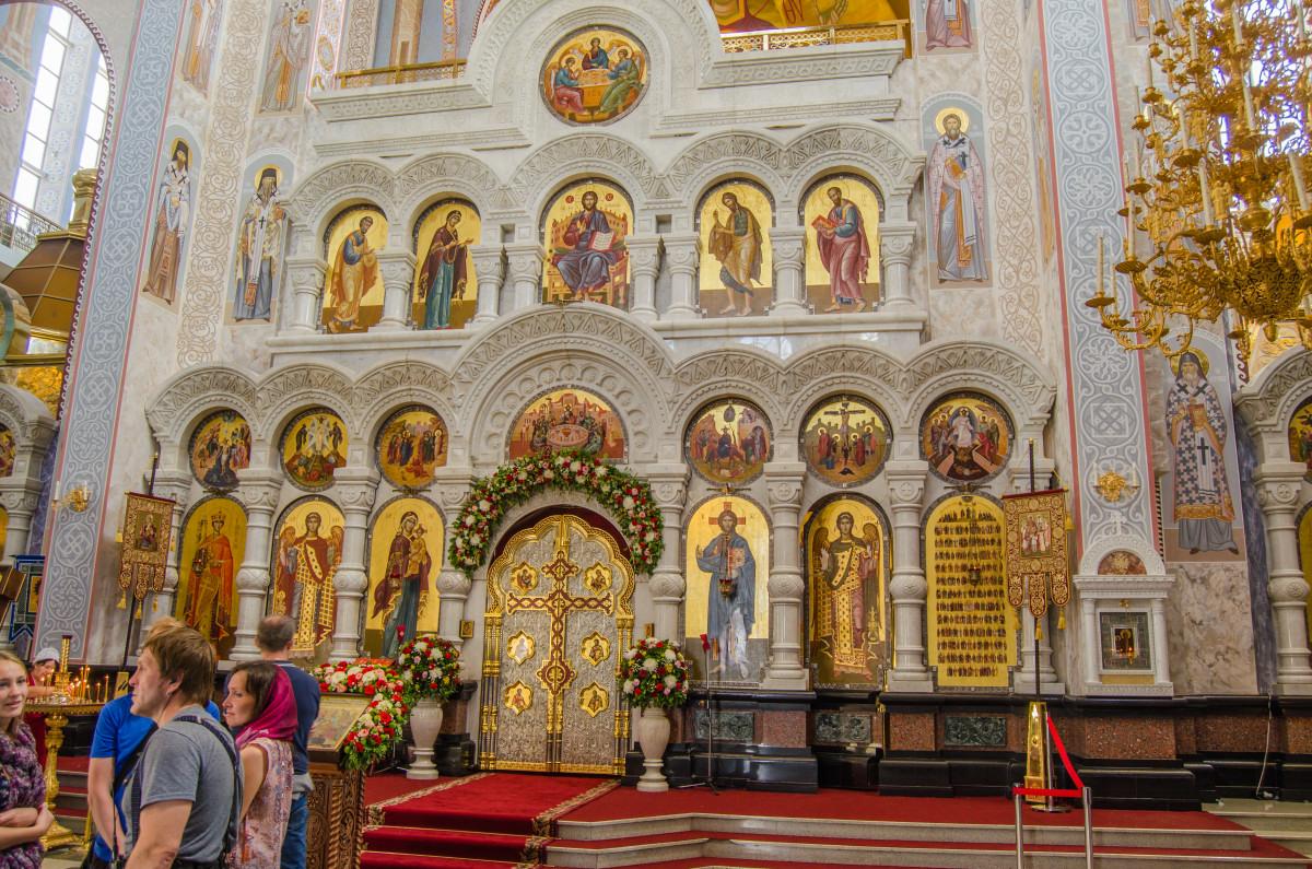 Екатеринбург, храм Романовых, 100 летие расстрела романовых _9488