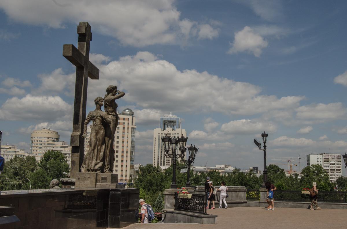 Екатеринбург, храм Романовых, 100 летие расстрела романовых _9528