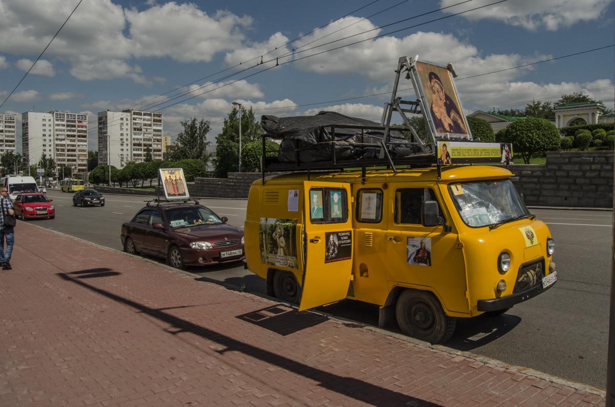 Екатеринбург, храм Романовых, 100 летие расстрела романовых _9530