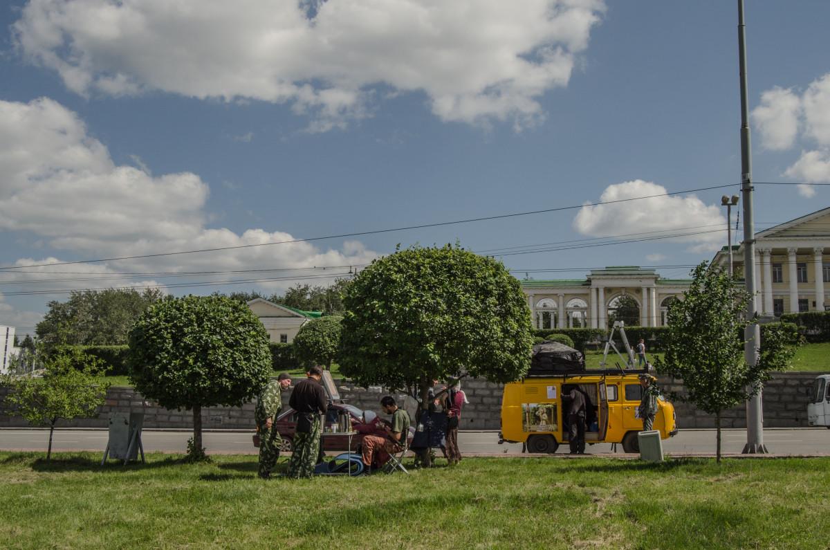 Екатеринбург, храм Романовых, 100 летие расстрела романовых _9531