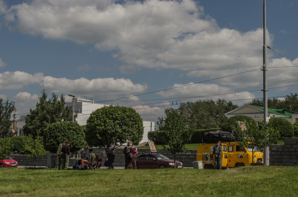 Екатеринбург, храм Романовых, 100 летие расстрела романовых _9532