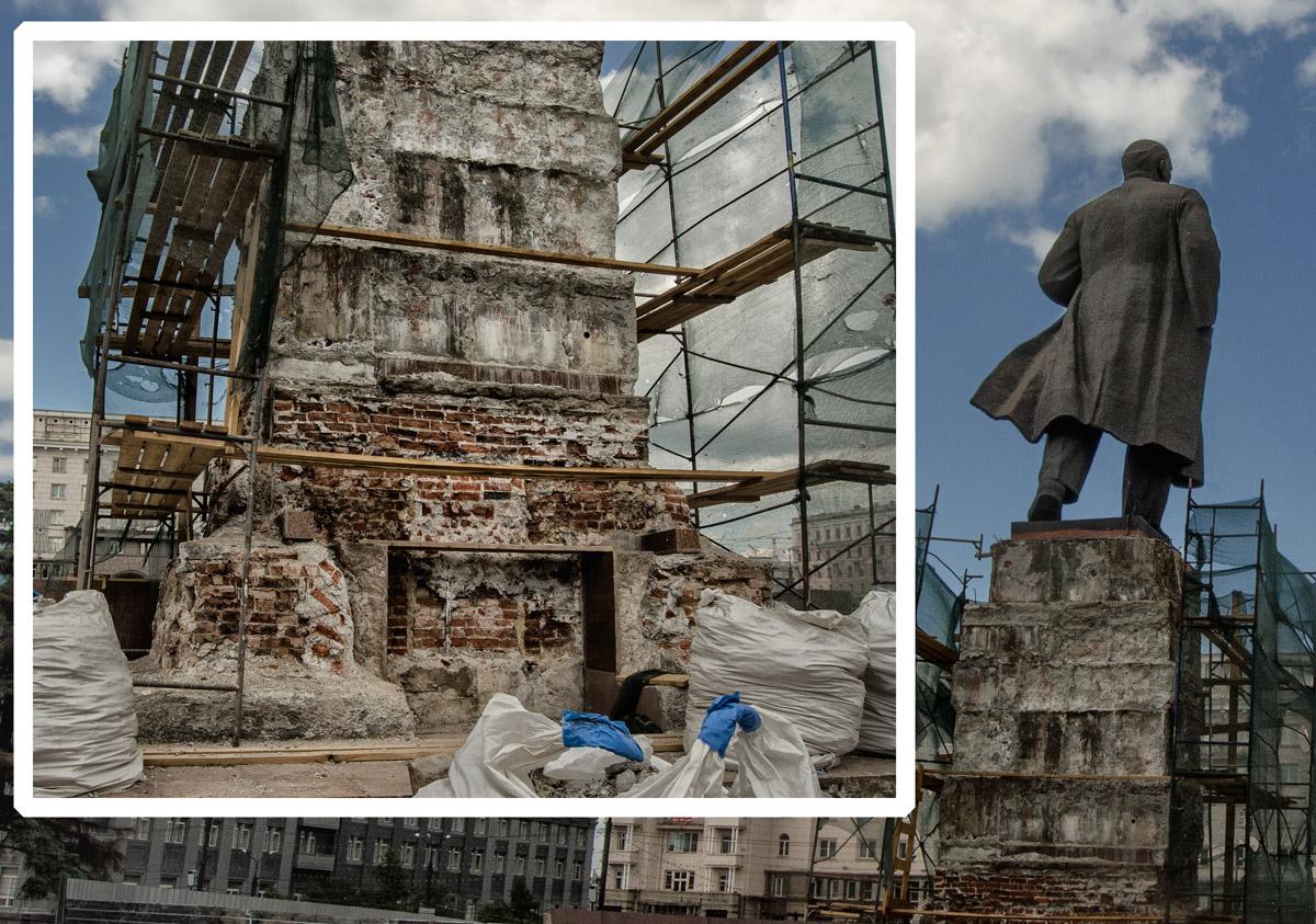 Челябинск загадка монумента Ленин