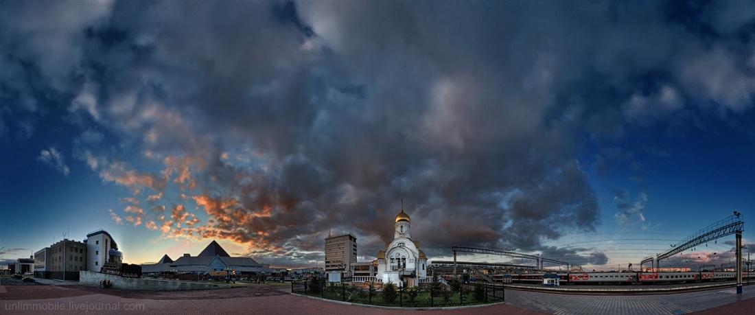 фотограф Челябинск закат вокзал