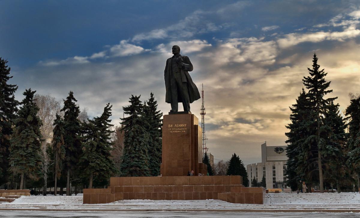 фотограф Челябинск, памятник Ленину
