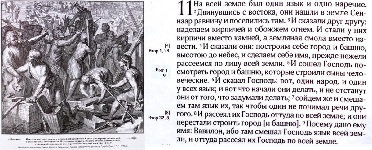 библия вавилон