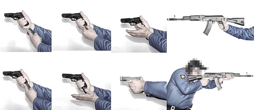 иллюстрации к учебнику под названием  практика современной стрельбы