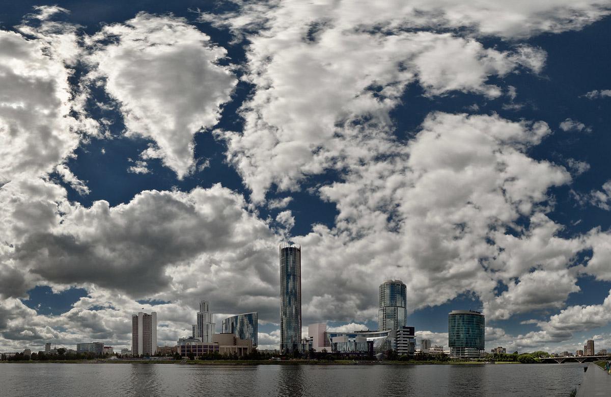 Екатеринбург, панорамное фото