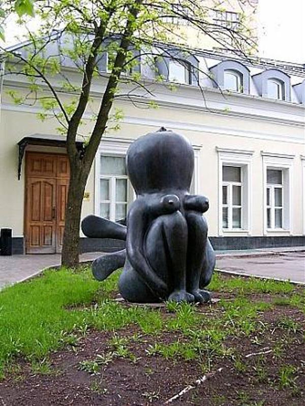 интересные памятники в москве фото сидорова яркое фото