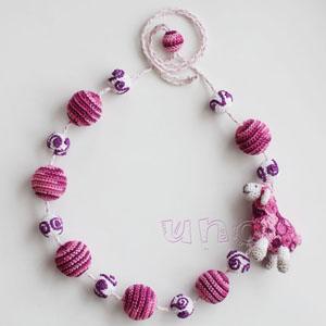 Овечка Малиново-розовые m
