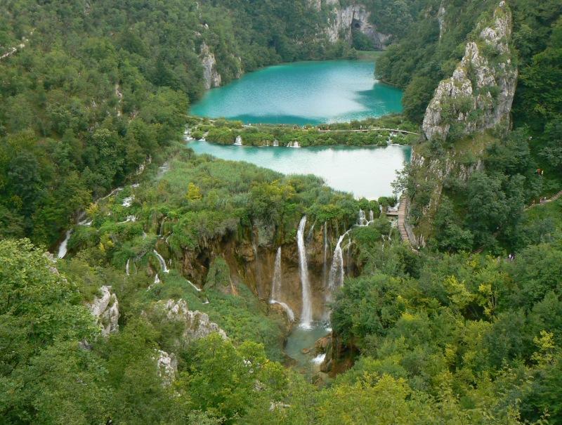 Плитвицкие озера и водопад-1