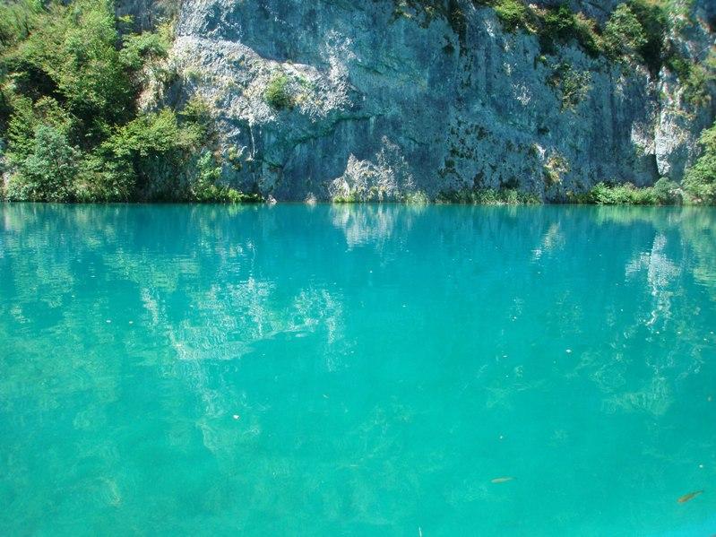 Голубая гладь Плитвицких озер-3